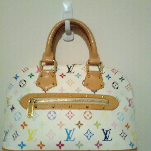 7f4f5d7477369 Louis Vuitton Handbags - Authentic Louis Vuutton Alma PM Murakami